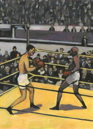Arthur Cravan versus Jack Johnson