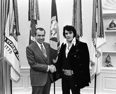 Quand Elvis rencontra Nixon