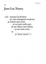 Jean-Luc Nancy - Jouis Anniversaire